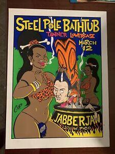 COOP Steelpole Bathtub Silkscreen Poster  S/N Chirs Cooper
