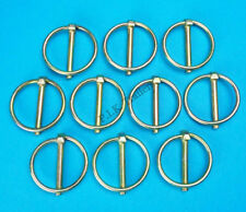 10 x Lynch Pins 5mm dia. pin x 36mm dia. ring - Trailer & Horsebox Linch Pins