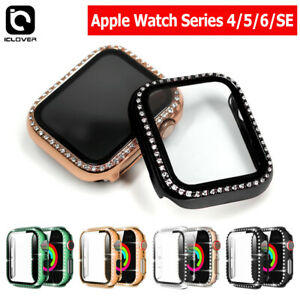 Apple Watch Series 4/5/6 40/44mm Bling Full Protect Case+Screen Protector Cover