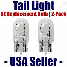 Tail Light Bulb 2pk - OE Replacement Fits Listed GMC Vehicles - 7443