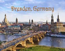 Germany - DRESDEN - Travel Souvenir Flexible Fridge Magnet