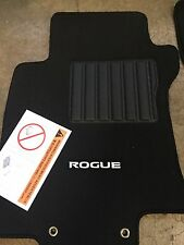 NEW OEM NISSAN ROGUE 2008-2013 BLACK CARPET FLOOR MATS - 4 PC SET