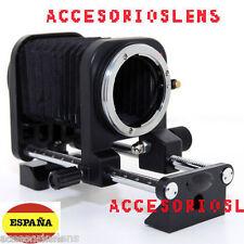 Fuelle macro para Canon EOS 500D 550D 1000D PARA TODAS LAS CAMARAS CANON EOS
