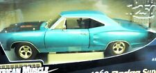 1/18, 1969 Dodge Super Bee , teal with american mags
