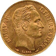 Venezuela - 20 Bolivares Simon Bolivar, 1911 Paris