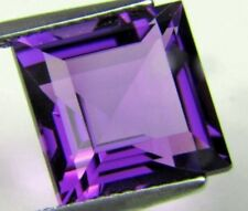AFRICAN AMETHYST 14 MM SQUARE CUT ALL NATURAL AAA