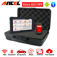 Bluetooth OBD2 Full System Scanner&Tablet Automotive Diagnostic Tool ABS EPB SRS