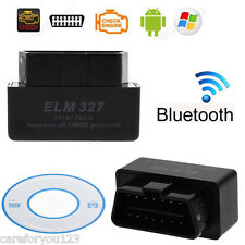 Bluetooth ELM327 V2.1 ODB2 ODB-II Wireless Car Auto Diagnostic Scan Scanner USB