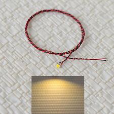15 Stück Vorverdrilltes Kabel Warmweiß #0805 SMD Straßenlampen Vorgelötete Lampe