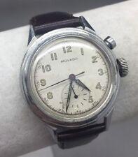 Vintage Movado Chronograph 1 button, cal 478 RUNNER! Ca.1930-1940s.(Super Rare)!