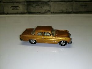 "Vintage cars ""Matchbox"" Mersedes 300 SE Series №46 1970 England"
