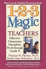 1-2-3 Magic for Teachers: Effective Classroom Discipline Pre-K through Grade 8 b