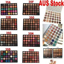 35O Eyeshadow Palette 100% Morphe 35Color Eye Shimmer Matte Face Blushes IN AUS