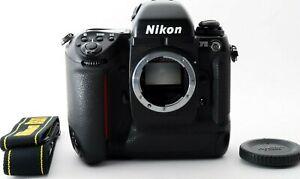 Exc+5 Nikon F5 35mm SLR Film Camera Black body only S/N w/cap Manual from JAPAN
