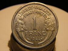 4CL(216) - 1 FRANC - MORLON - ALU - 1944 - RARE QUALITE TTB+/SUP !