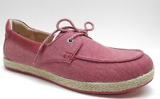 Born b.o.c Red Canvas Platform Oxford Espadrille Shoes 8M 8 NEW MSRP $120