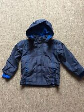Boys Slazenger Blue coat age 3-4 fleece lining