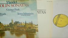 HAENDEL:violin Sonatas*G.PAUK/M.FRANK*HUNGAROTON DIGITAL *2LP GATEFOLD