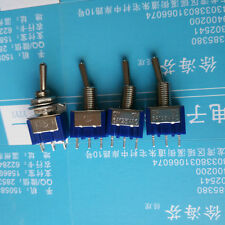 10pcs Mini MTS-102 3-Pin SPDT ON-ON 6A 125VAC Toggle Switches HU