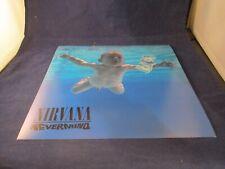 Nirvana Nevermind Orig. Double-Sided Promotional Poster Flat 1991 Kurt Cobain