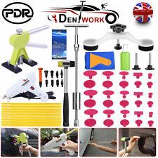 UK 59PCS PDR Tools Car Body Dent Puller Paintless Hail Repair Dent Removal Kit