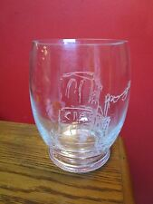 TIFFANY GLASS VASE ETCH DECOR ON FRONT[a*1]