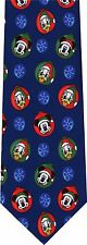 MICKEY MOUSE AND DONALD DUCK CHRISTMAS  NEW NOVELTY TIE
