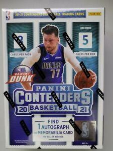 2020-21 Panini Contenders NBA Blaster Box 40 Cards inc 1 Auto / Memo FREE SHIP