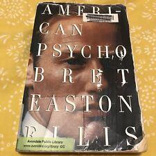 American Psycho by Bret Easton Ellis (Library Binding)
