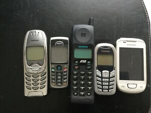 Konvolut Alte Handys - Nokia, Samsung, Siemens u.a. ca 60 Stück