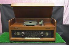ANCIEN POSTE RADIO TSF A LAMPE AVEC PLATINE TOURNE DISQUE