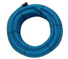 Blue Twinwall Duct x 50m coil for water pipe 63mm (50mm int) Ducting