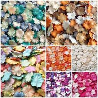 Mixed Carnation Flowers Mulberry Paper Blossom Scrapbooking For Craft & DIY