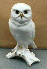 More details for lovely very rare royal osborne white owl porcelain figurine tmr-06526 su221