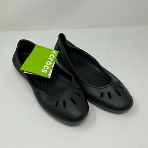 Crocs 107961 Kelli Flat Standard Fit Women's Shoes Size 10