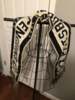 Old Time Hockey Knit Scarf Pittsburgh Penguins. Brand New