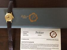 Vintage Montres Uhren PELTIER Swiss Women's Watch