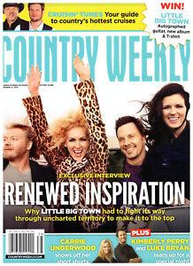 Country Weekly 9/17/2012 Little Big Town Kix Brooks Bucky Covington Thomas Rhett