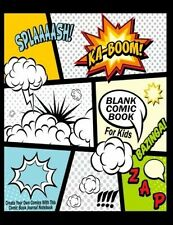 Blank Comic: Create Your Own, Kids Activity Book Journal Notebook Drawing NEW
