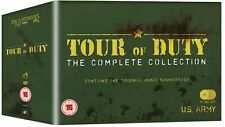 TOUR OF DUTY 1-3 1987-1990: COMPLETE TV Series w. ORIGINAL MUSIC - R2 DVD not US