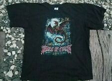 New listing Cradle Of Filth T Shirt Size Large Aosoth Dark Throne Emperor Immortal Xasthur
