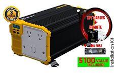 KRIËGER® 4000 Watt 12V Power Inverter MET UL CSA