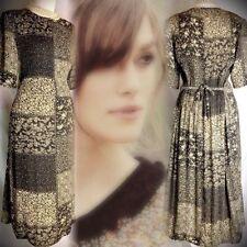 Chiffon Everyday Original Vintage Dresses for Women