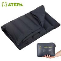 ATEPA UltraLight Duck Down Portable Blanket Cloak Sleeping Bag 3-in-1 Outdoor
