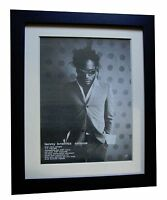 LENNY KRAVITZ+Circus+POSTER+AD+ORIGINAL 1995+TOP QUALITY+FRAMED+FAST GLOBAL SHIP