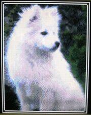 Japanese Spitz (Dog) ~ Counted Cross Stitch Kit #K318