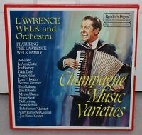 Lawrence Welk and Orchestra Champagne Music Varieties Boxed Set - 1970 6 total