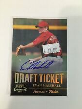 F113,390  2011 Playoff Contenders Draft Ticket Autographs Evan Marshall