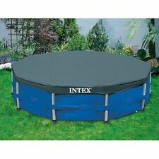 INTEX 58406 TARPAULIN COVERAGE COVER POOL 28030 ROUNDED CM 305 BESTWAY
