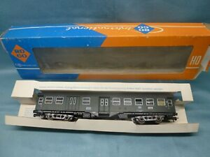 ROCO 4251 'HO' DB 2nd CLASS COACH IN GREEN+GREY ~ BOXED
